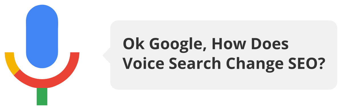 Voice Search is changing how SEO works. Being the top result has never been more important.